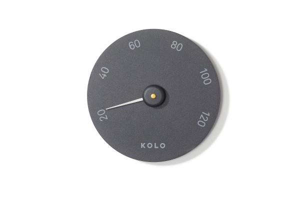 KOLO Thermometer Mittari schwarz
